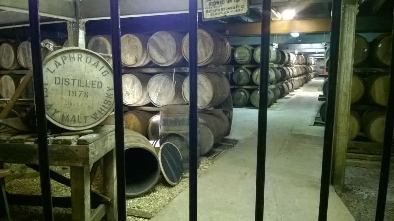 Laphroaig storage