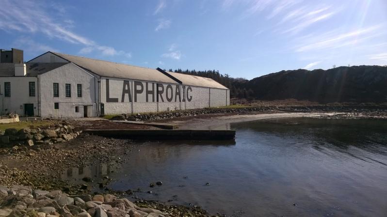 Laphroaig distillery Islay