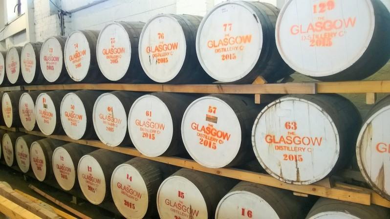 Single Malt Glasgow whisky