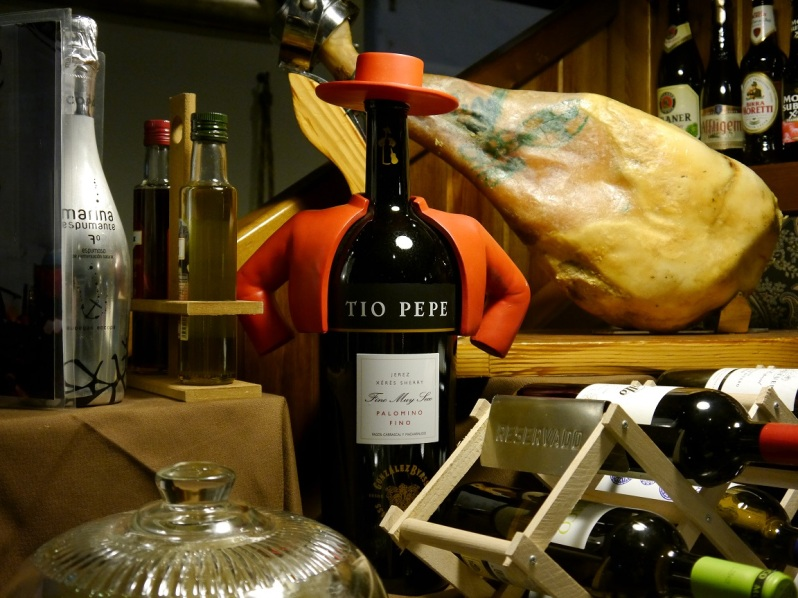 tio pepe and meat