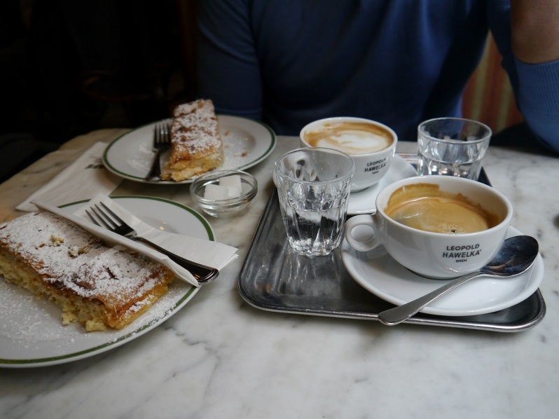 coffee and strudel