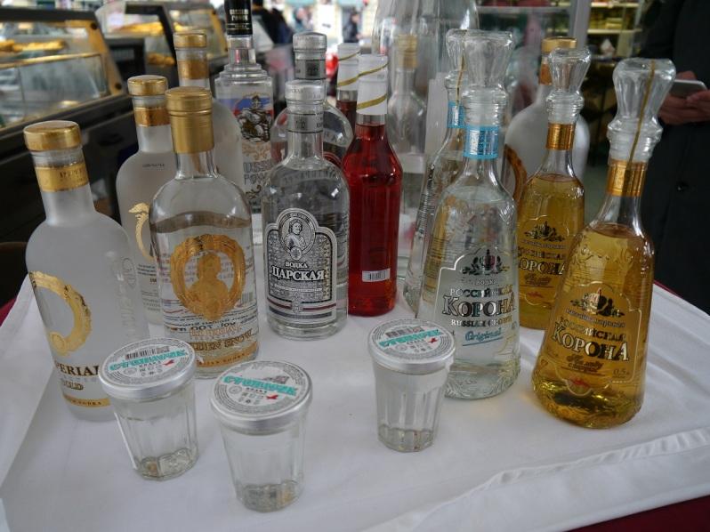 vodka shots in Vienna